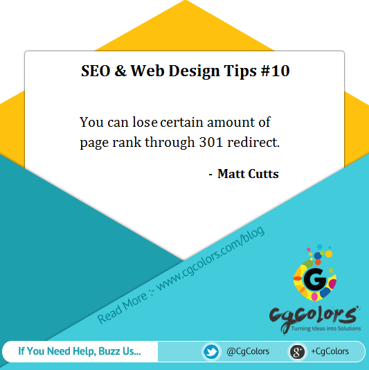 Seo And Web Design Tip - 301 Redirection