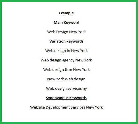 Keyword Research - Choosing Keywords