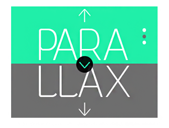 When to use parallax scrolling