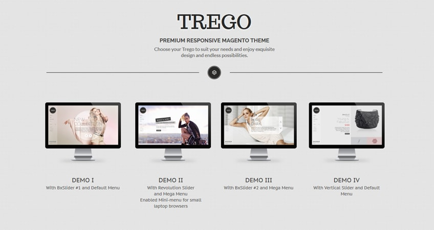 Trego – Responsive Magento Theme