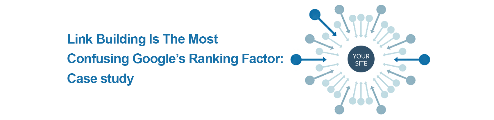 Link Building is the most confusing Google's ranking factor: Case study