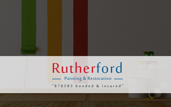 Rutherford Painting & Restoration – A WordPress Site