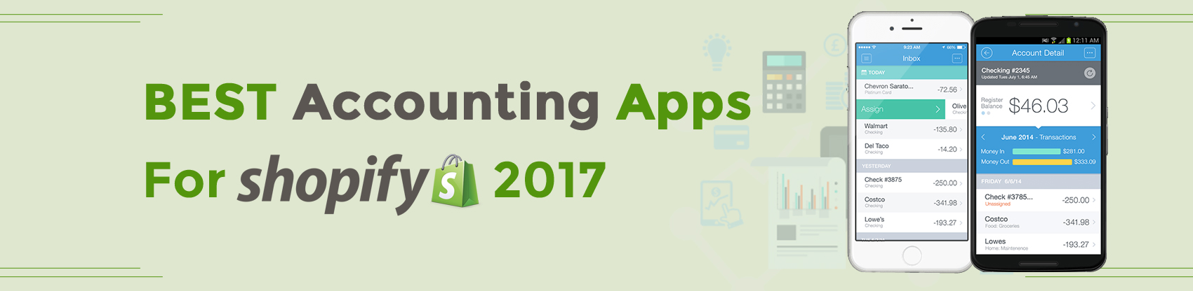 Best Accounting Apps for shopify 2017
