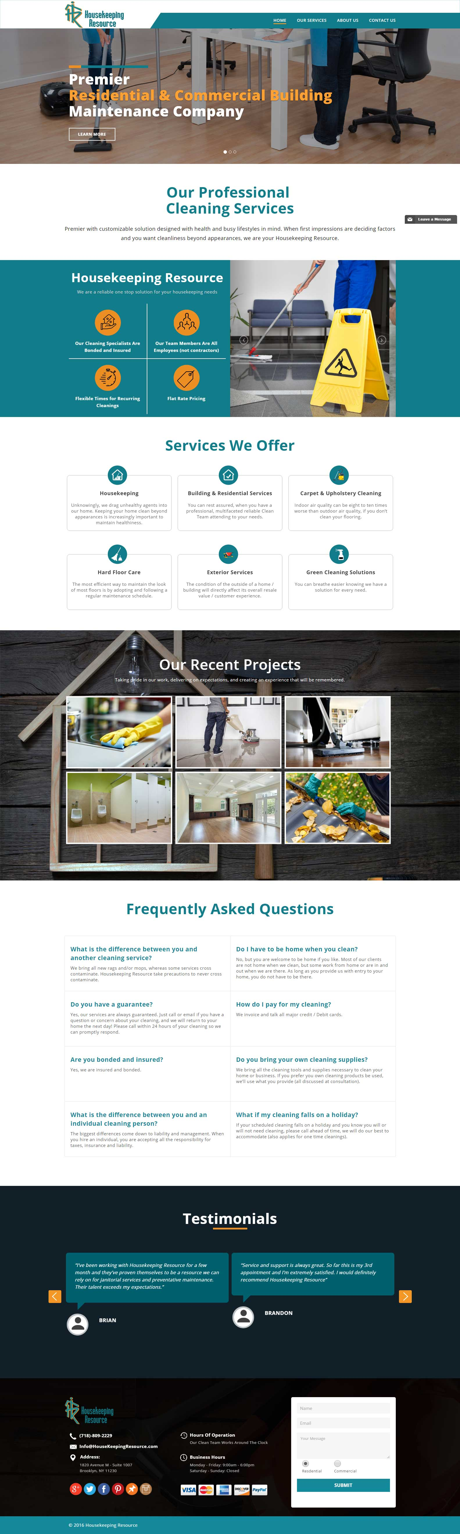 Get a professional website
